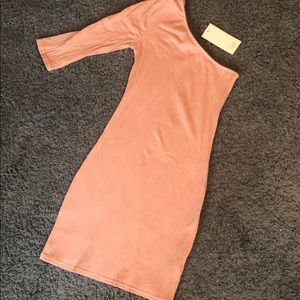 NWT Tobi one shoulder dress size Small